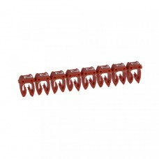 """Маркер кабельный 0,5-1,5мм символ """"2"""" красный CAB 3 (1200шт/упак) Legrand"""