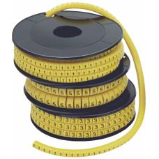 """Маркер кабельный 1-2,5мм символ """"1"""" МК (1000шт/упак) IEK"""