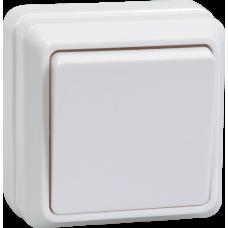 Выключатель Октава 1ОП б/п 10А IP20 в сборе ВС20-1-0-ОБ белый  EVO10-K01-10-DC