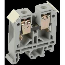 Зажим наборный ЗНИ-6мм2 JXB50А серый IEK  YZN10-006-K03
