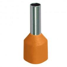 Наконечник-гильза 0,5 оранжевый (100шт/упак) ИЭК
