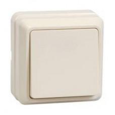 Выключатель Октава 1ОП б/п 10А IP20 в сборе ВС20-1-0-ОКм кремовый  EVO10-K33-10-DC