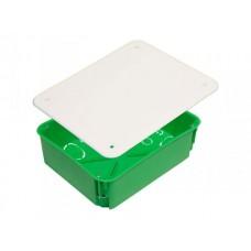 Коробка разветвительная 206х166х70 IP30 18 вводов, прямоугольная с крышкой, металл лапки (24шт/кор)  КР1205