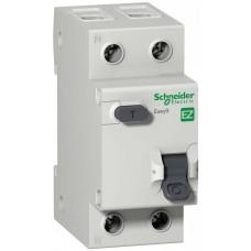 Дифф автомат 1П+N 16А хар-ка C 4,5кА 30мА AC -S- Easy9 Schneider Electric