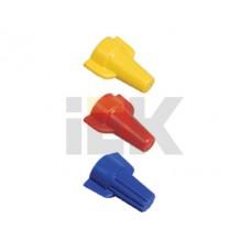 Колпачок СИЗ-2 7-20мм красный (100шт/упак) IEK  USC-11-4-100