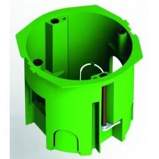 Коробка установочная 68х60мм IP30 6 вводов, металлические лапки (240шт/кор)