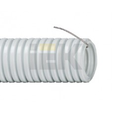 Гофротруба ПВХ d16 с зондом 100м IEK IEK CTG20-16-K41-100I