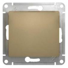 Выключатель Глосса 1СП б/п 10А IP20 механизм титан  GSL000411