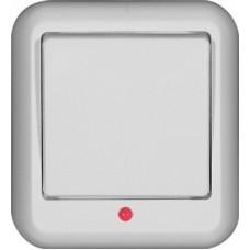 Выключатель Прима 1ОП с/п 6А IP20 в сборе белый  A16-046-B