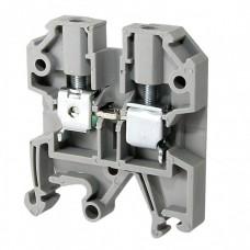 Зажим наборный ЗНИ-4мм2 JXB35А серый IEK  YZN10-004-K03