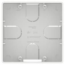 Коробка монтажная Бланка 1СП для силовых розеток подъемная белый  BLNPK000021