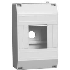 Корпус пластиковый КМПн 1/4 IP30 для 4 модульных автоматов наружной установки без крышки IEK