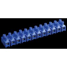 Зажим винтовой ЗВИ-10 н/г 2,5-6мм2 12пар ИЭК синие ИЭК  UZV6-010-06