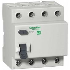 УЗО 4П 25А 30мА AC -S- Easy9 Schneider Electric