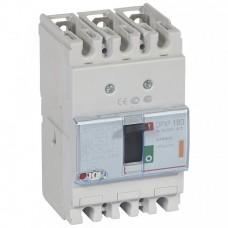 Автомат 3П 160А 25кА термомагн расцепит DPX3 160 Legrand  420047