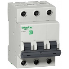 Автомат 3П 63A хар-ка C 4,5кА 400В -S- Easy9 Schneider Electric  EZ9F34363
