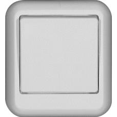 Выключатель Прима 1ОП б/п 6А IP20 в сборе белый  A16-051-B