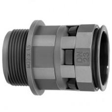 Муфта труба-коробка DN 23мм М25х1,5 полиамид черная DKC