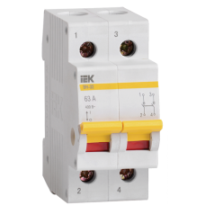 Выключатель нагрузки ВН-32 2П 20А ИЭК  MNV10-2-020