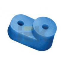 Изолятор угловой для нулевой шины синий IEK  YIS32
