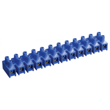 Зажим винтовой ЗВИ-5 н/г 1,5-4,0мм2 12пар ИЭК синие ИЭК