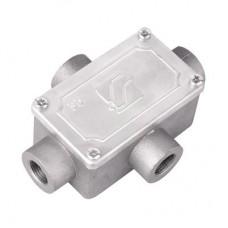 Коробка ответвительная алюминиевая 4 ввода М20х1,5 IP55 118х83х42мм DKC