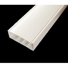 Кабель-канал с крышкой 130х50х2000мм белый SPL