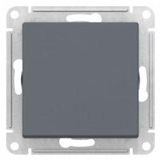 Выключатель АтласДизайн 1СП б/п 10А IP20 механизм грифель