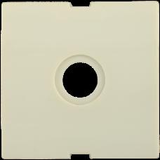 Накладка Болеро 1СП на розетку ТВ проходную/оконечную HTV-1-БК кремовый
