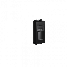 Адаптер для Keystone Черный квадрат 1 мод Avanti DKC