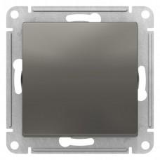 Выключатель АтласДизайн 1СП б/п 10А IP20 механизм сталь