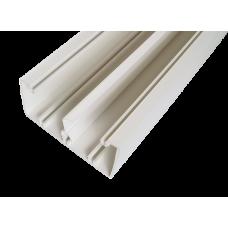 Кабель-канал с крышкой 100х50х2000мм белый SPL