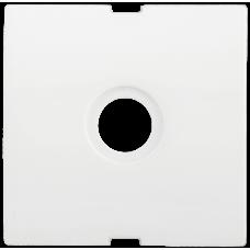 Накладка Болеро 1СП на розетку ТВ проходную/оконечную HTV-1-ББ белый