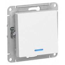 Выключатель АтласДизайн 1СП с/п 10А IP20 механизм белый