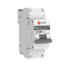 Автомат 1П 16А хар-ка C 10кА ВА47-100 PROxima EKF  mcb47100-1-16C-pro