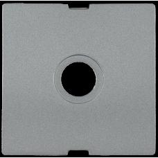 Накладка Болеро 1СП на розетку ТВ проходную/оконечную HTV-1-БА антрацит