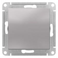 Выключатель АтласДизайн 1СП б/п 10А IP20 механизм алюминий  ATN000311