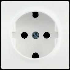 Накладка Болеро 1СП на розетку с/з НР-1-1-ББ белый