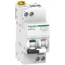 Дифф автомат 1П+N 16А хар-ка B 6кА 30мА AC iDPN N VIGI Acti9 Schneider Electric  A9D55616