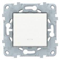 Выключатель Уника NEW 1СП с/п 10А IP20 механизм белый  NU520118N