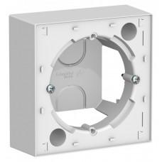 Коробка АтласДизайн 1ОП IP20 механизм белый  ATN000100