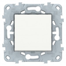 Выключатель Уника NEW 1СП б/п 10А IP20 механизм белый  NU520118