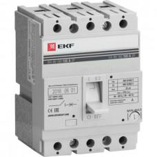 Автомат 3П 160/100А 35кА ВА-99 PROxima EKF  mccb99-160-100