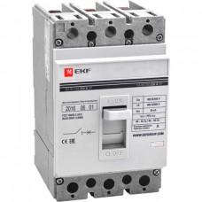 Автомат 3П 250/125А 35кА ВА-99 PROxima EKF  mccb99-250-125