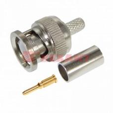 Разъем штекер BNC RG-58 обжим (01-001A) REXANT