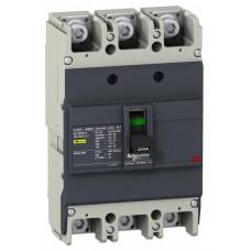 Автомат 3П 125А 25кА 400В EZC250N Easypact Schneider Electric  EZC250N3125