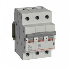 Выключатель-разъединитель 3П 63А RX3 Legrand  419413