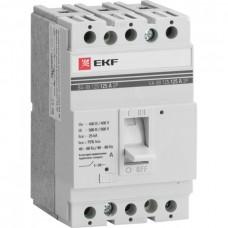 Автомат 3П 125/100А 25кА ВА-99 PROxima EKF  mccb99-125-100