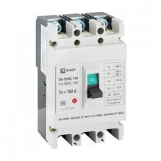 Автомат 3П 100/160А 18кА ВА-99МL Basic EKF  mccb99-100-160mI