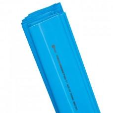 Трубка термоусадочная ТУТ 30/15 синяя 1м (25шт/упак) ЭКФ